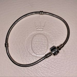 Authentic Iconic Pandora Bracelet (7.5 in / 19 cm)